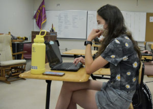 Students are making the choice if they will learn online or in person for the 2021-22 school year.