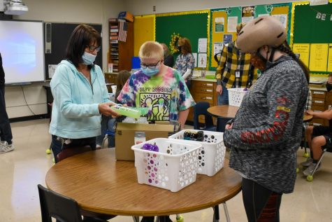 Kennedy Special Education Holds Hygiene Drive