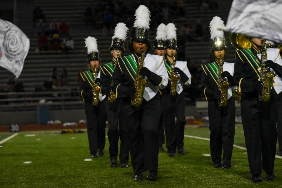 Kennedy Marching Band Begins Competitions