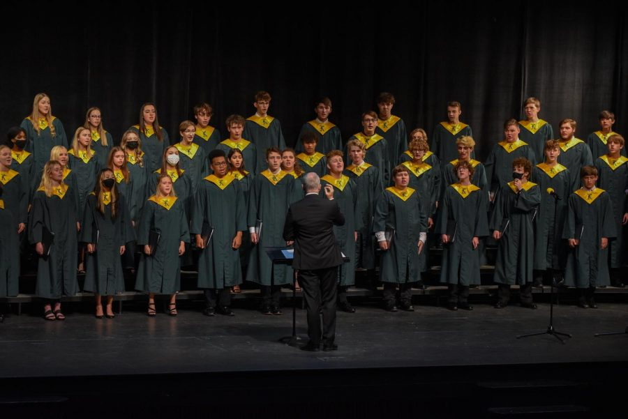 Kennedy Choir Performs on October 14